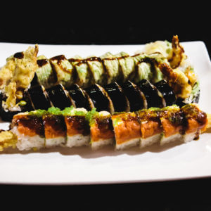 Combination of spurs roll, spider roll, Duncan roll